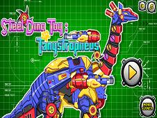 Steel Dino Toy Mechanic Tanystropheus