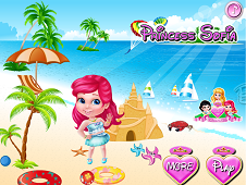 Princess Sofia At The Beach
