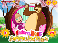 Masha And Bear Summer Vacation