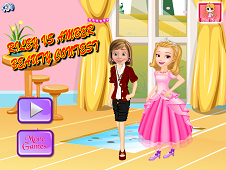Riley Vs Amber Beauty Contest