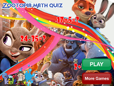 Zootopia Math Quiz