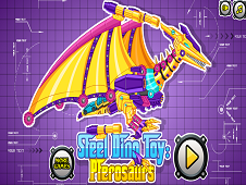 Steel Dino Toy Pterosaurs