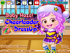 Baby Hazel Cheerleader Dress-up