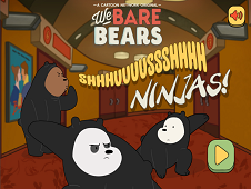 We Bare Bears – Shush Ninjas