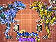 Steel Dino Toy Raptors