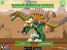 Toy War Robot Spinosaurus