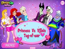 Princess Vs Villains Tug-Of-War