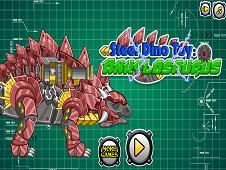 Steel Dino Toy Ankylosaurus