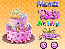 Palace Pets Birthday Cake