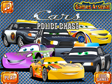 Cars Police Chase