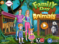 Family Day With Animals