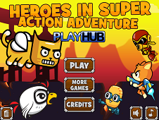 Heroes in Super Action Adventure