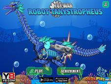 Toy War Robot Tanystropheus