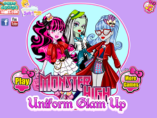 Monster High Uniform Glam Up