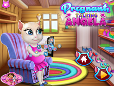 Pregnant Talking Angela Shopping
