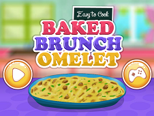 Easy to Cook Baked Brunch Omelet
