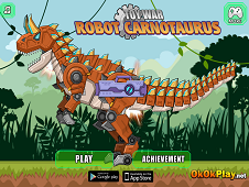 Toy War Robot Carnotaurus