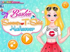 Barbie Summer T-shirt Makeover
