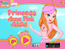 Princess Anna Pink Addict