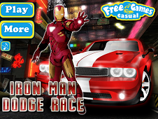 Iron Man Dodge Car