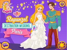 Rapunzel Destination Wedding: Paris