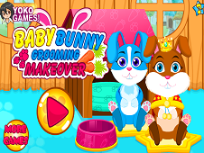 Baby Bunny Grooming Makeover