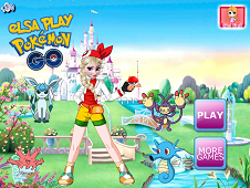 Elsa Play Pokemon Go
