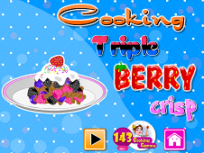 Cooking Triple Berry Crisp
