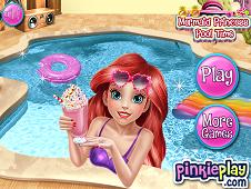 Mermaid Princess Pool Time