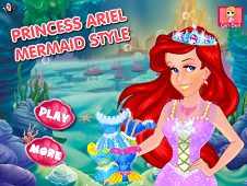 Princess Ariel Mermaid Style