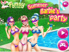 Summer Barbie Party