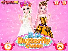 Elsa Butterfly Queen