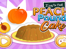 Easy to Cook Peach Pound Cake