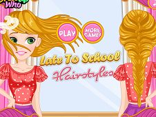 Late to School Hairstyles