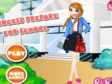 Princess Prepare for School