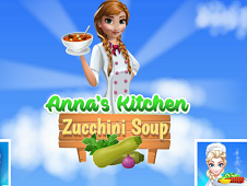 Anna's Kitchen Zucchini Soup