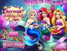 Ariel Birthday Party