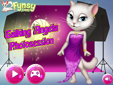 Talking Angela Photo Session
