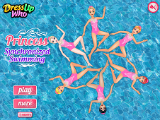 Princess Synchronized Swimming