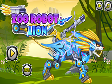 Zoo Robot Lion