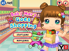 Baby Mary Goes Shopping