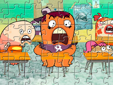 Fish Hooks Puzzle