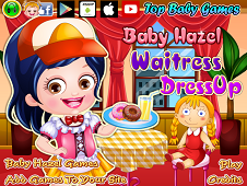 Baby Hazel Waitress Dress-Up
