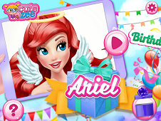 Ariel Birthday Girl