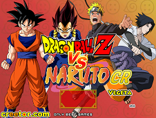 Dragon Ball Vs Naruto CR: Vegeta