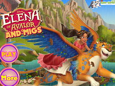 Elena of Avalor and Migs