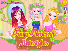 Barbie Fairy Princess Hairstyles