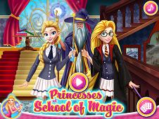Princesses At School Of Magic