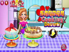 Sandra Cooking Desserts