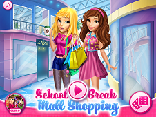 School Break Mall Shopping